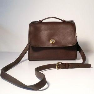 EXCELLENT Vintage Coach Court Satchel Bag Handbag